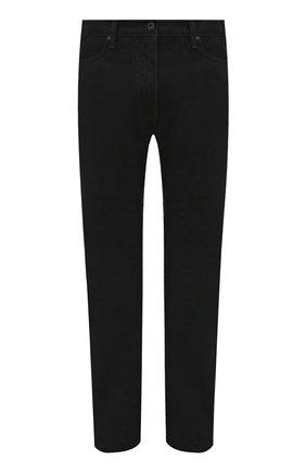 Мужские джинсы OFF-WHITE черного цвета, арт. 0MYA124F21DEN002 | Фото 1