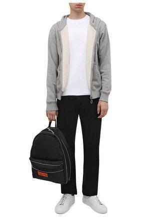 Мужские джинсы OFF-WHITE черного цвета, арт. 0MYA124F21DEN002 | Фото 2