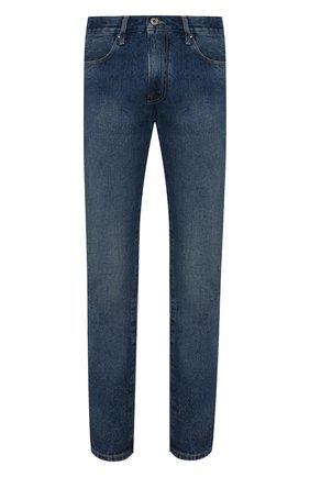 Мужские джинсы OFF-WHITE синего цвета, арт. 0MYA102F21DEN007 | Фото 1