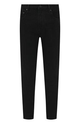 Мужские джинсы OFF-WHITE черного цвета, арт. 0MYA074F21DEN001 | Фото 1