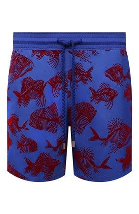 Мужские плавки-шорты VILEBREQUIN синего цвета, арт. MAHH1D18/314   Фото 1