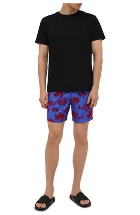 Мужские плавки-шорты VILEBREQUIN синего цвета, арт. MAHH1D18/314   Фото 2