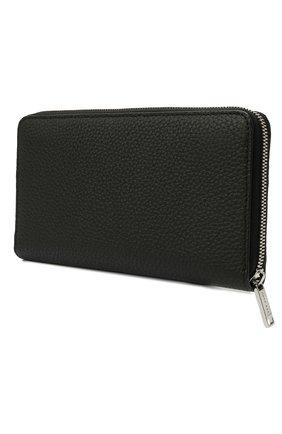 Мужской кожаное портмоне BOSS черного цвета, арт. 50464357 | Фото 2