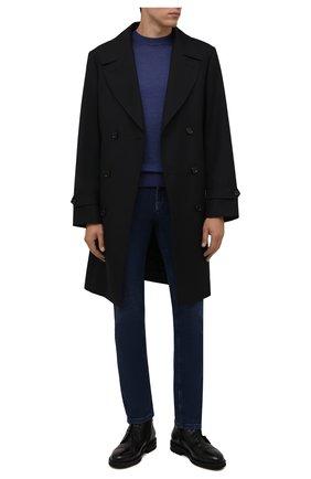 Мужские кожаные ботинки H`D`S`N BARACCO черного цвета, арт. 81521.M.1* | Фото 2 (Подошва: Плоская; Материал утеплителя: Натуральный мех; Мужское Кросс-КТ: Ботинки-обувь, зимние ботинки)