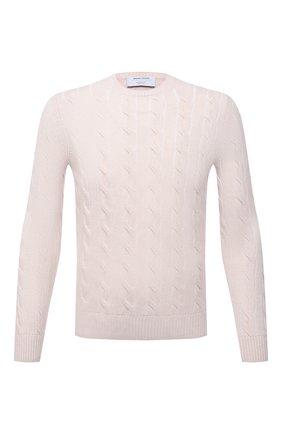 Мужской свитер из шерсти и кашемира GRAN SASSO светло-бежевого цвета, арт. 23120/19654   Фото 1