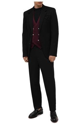 Мужской шерстяной жилет GRAN SASSO бордового цвета, арт. 58151/22746   Фото 2