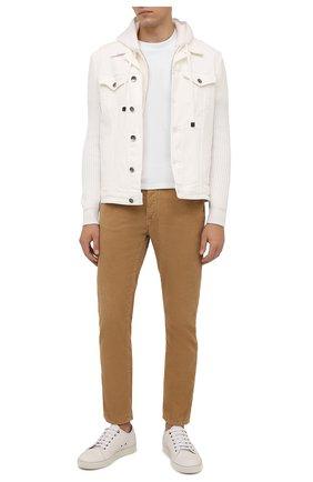 Мужская комбинированная куртка ELEVENTY белого цвета, арт. D70GBTD05 TET0D022 | Фото 2