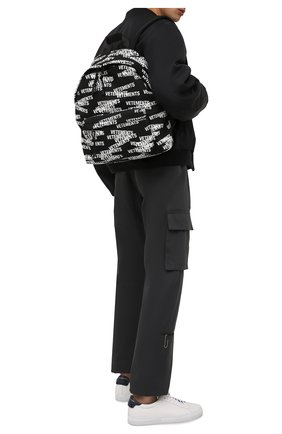 Мужской текстильный рюкзак VETEMENTS черного цвета, арт. UA52BA700B 1302/M   Фото 2 (Материал: Текстиль)
