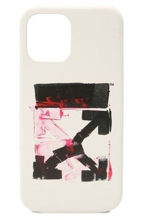 Чехол для iphone 12 pro max OFF-WHITE белого цвета, арт. 0MPA027F21PLA005 | Фото 1