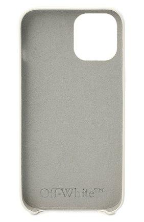 Чехол для iphone 12 pro max OFF-WHITE белого цвета, арт. 0MPA027F21PLA005 | Фото 2