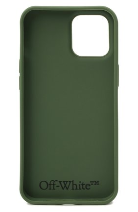 Чехол для iphone 12 pro max OFF-WHITE хаки цвета, арт. 0MPA027F21PLA002 | Фото 2