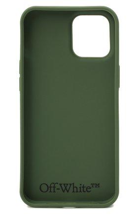 Чехол для iphone 12 pro OFF-WHITE хаки цвета, арт. 0MPA026F21PLA002 | Фото 2