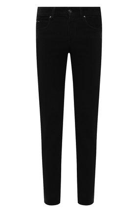 Мужские хлопковые брюки Z ZEGNA черного цвета, арт. VY719/ZZ530   Фото 1 (Материал внешний: Хлопок; Случай: Повседневный; Стили: Кэжуэл; Длина (брюки, джинсы): Стандартные)