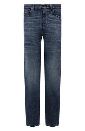 Мужские джинсы SAINT LAURENT синего цвета, арт. 653902/Y19JA | Фото 1