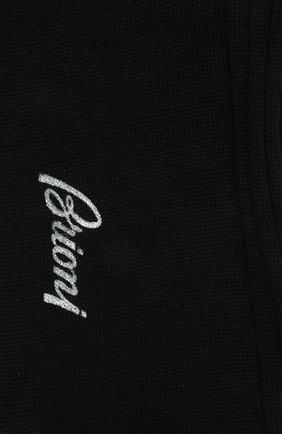 Мужские шерстяные носки BRIONI темно-синего цвета, арт. 0VMC00/09Z01 | Фото 2 (Материал внешний: Шерсть; Кросс-КТ: бельё)