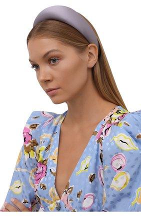 Женский ободок для волос FLOWER ME светло-сиреневого цвета, арт. HAIRBAND-ST017010L   Фото 2