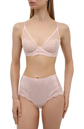 Женские трусы-шорты MAISON LEJABY светло-розового цвета, арт. 20864 | Фото 2
