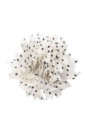 Женская брошь pion FLOWER ME белого цвета, арт. PION -NS004015L | Фото 1 (Материал: Текстиль)