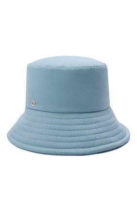 Женская панама LORO PIANA голубого цвета, арт. FAL7822 | Фото 1 (Материал: Текстиль, Синтетический материал)