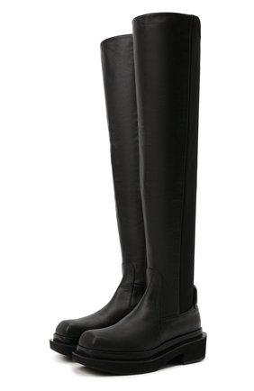 Женские кожаные ботфорты isadora PALOMA BARCELO черного цвета, арт. ISAD0RA NAPAS0FT | Фото 1