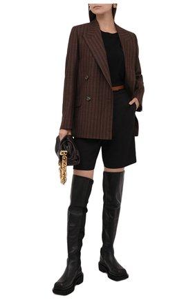 Женские кожаные ботфорты isadora PALOMA BARCELO черного цвета, арт. ISAD0RA NAPAS0FT | Фото 2