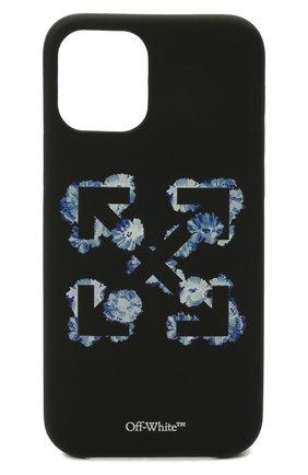 Чехол для iphone 12/12 pro OFF-WHITE черного цвета, арт. 0WPA020F21PLA006   Фото 1