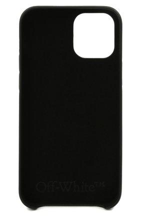 Чехол для iphone 12/12 pro OFF-WHITE черного цвета, арт. 0WPA020F21PLA006   Фото 2