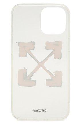 Чехол для iphone 12 pro max OFF-WHITE прозрачного цвета, арт. 0WPA021F21PLA001 | Фото 2