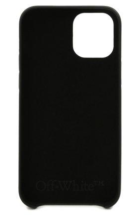 Чехол для iphone 12 pro max OFF-WHITE черного цвета, арт. 0WPA021F21PLA003 | Фото 2