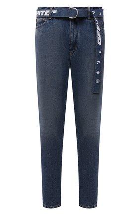 Мужские джинсы OFF-WHITE синего цвета, арт. 0MYA005F21DEN003 | Фото 1