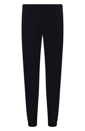 Мужские джоггеры OFF-WHITE черного цвета, арт. 0MCA164F21FAB002 | Фото 1 (Материал внешний: Синтетический материал; Силуэт М (брюки): Джоггеры; Стили: Спорт-шик; Длина (брюки, джинсы): Стандартные)