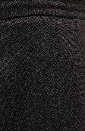 Мужские брюки из кашемира и шерсти MARCO PESCAROLO коричневого цвета, арт. CHIAIAM/ZIP+RIS/4458 | Фото 5 (Big sizes: Big Sizes; Материал внешний: Шерсть, Кашемир; Длина (брюки, джинсы): Стандартные; Случай: Повседневный; Стили: Кэжуэл)
