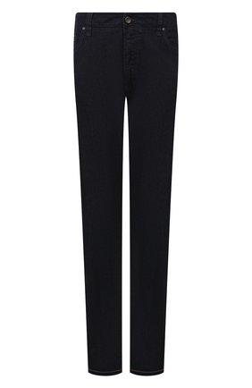 Мужские джинсы CORTIGIANI темно-синего цвета, арт. 213521/S500/0000/6090/60-70 | Фото 1 (Длина (брюки, джинсы): Стандартные; Материал внешний: Хлопок; Кросс-КТ: Деним; Силуэт М (брюки): Прямые; Стили: Кэжуэл; Big sizes: Big Sizes)