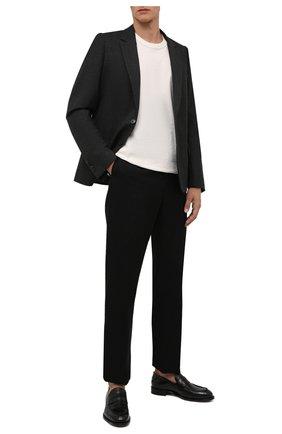 Мужской шерстяной пиджак DRIES VAN NOTEN темно-серого цвета, арт. 212-020410-3183 | Фото 2
