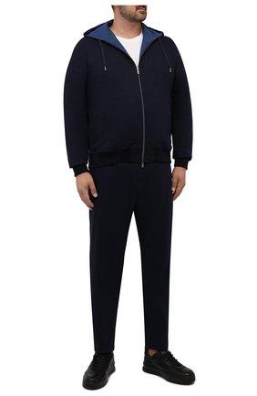 Мужской хлопковый спортивный костюм CAPOBIANCO синего цвета, арт. 11MT34.WY00./58-60 | Фото 1
