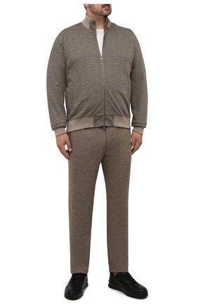 Мужской спортивный костюм CAPOBIANCO бежевого цвета, арт. 11MT14.CH00./58-60 | Фото 1
