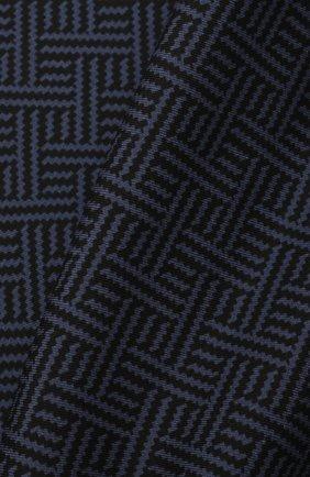 Мужской шелковый платок ERMENEGILDO ZEGNA темно-синего цвета, арт. Z2J04A/39A | Фото 2 (Материал: Текстиль, Шелк)