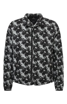 Мужская утепленная куртка STONE ISLAND серого цвета, арт. 751940407 | Фото 1