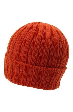Мужская шерстяная шапка PAUL&SHARK оранжевого цвета, арт. 11317137/GQM   Фото 2