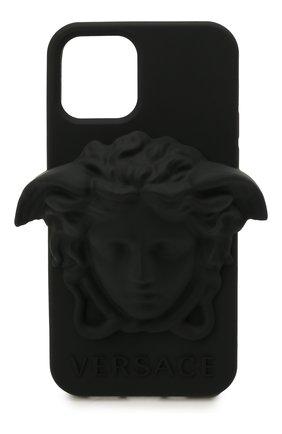 Чехол для iphone 12/12 pro VERSACE черного цвета, арт. DPY8598M/DPCME   Фото 1