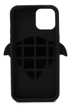 Чехол для iphone 12/12 pro VERSACE черного цвета, арт. DPY8598M/DPCME   Фото 2
