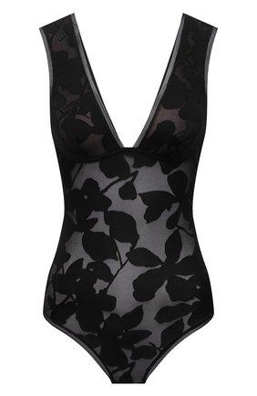 Женское боди MAISON LEJABY черного цвета, арт. 211077 | Фото 1