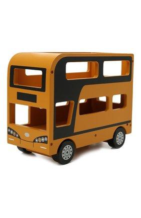 Детского игрушечный двухэтажный автобус KID`S CONCEPT оранжевого цвета, арт. 1000515 | Фото 2