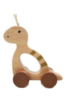 Детского динозавр на колесах KID`S CONCEPT бежевого цвета, арт. 1000504   Фото 1