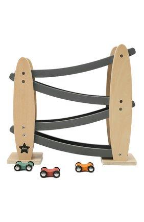 Детского игрушечная автотрасса aiden KID`S CONCEPT бежевого цвета, арт. 1000531   Фото 1