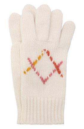 Детские кашемировые перчатки LORO PIANA бежевого цвета, арт. FAL7507 | Фото 1