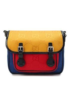 Детская сумка GUCCI разноцветного цвета, арт. 664145/H9HXN | Фото 1 (Материал: Текстиль)