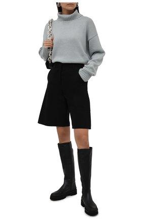 Женские кожаные сапоги PALOMA BARCELO черного цвета, арт. CALLAN NAPAS0FT | Фото 2