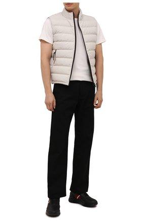 Мужские кожаные кроссовки blerry BALLY черного цвета, арт. BLERRY/00 | Фото 2 (Подошва: Массивная; Материал внутренний: Натуральная кожа; Стили: Классический)
