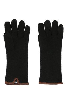 Мужские кашемировые перчатки SVEVO черного цвета, арт. 0158USA21/MP01/2 | Фото 2